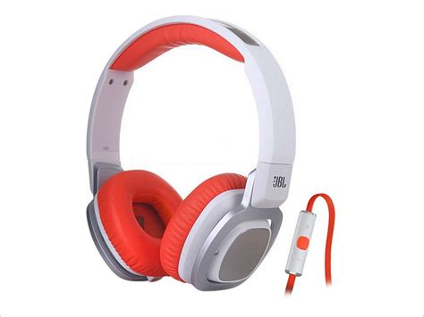 Headphone Jbl J55i Jbl J55i On Ear Headphones With Mic Orange Neweggflash