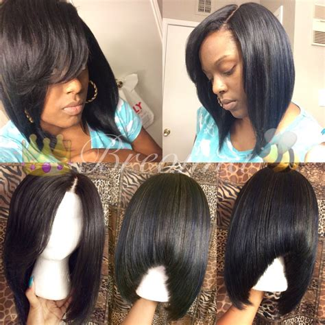 lace closure bob wig how to make a custom wig with lace closure bob youtube