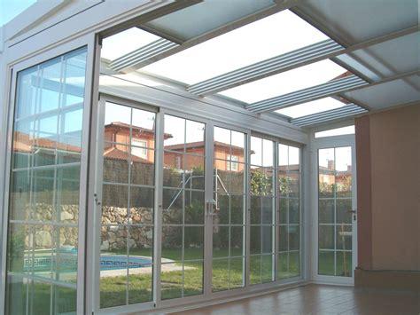 enrejado para techos techo m 243 vil con policarbonato aluminios y persianas