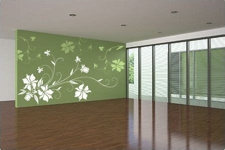 floral borders for living room wall stencils paint ideas fabulously stunning flower wall stencil ideas for painting