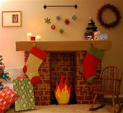 How To Make A Fireplace Out Of Paper - 25 best ideas about cardboard fireplace on