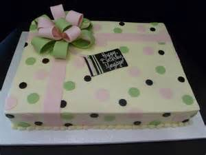 Zebra Themed Baby Shower Decorations Pink And Green Polka Dot Sheet Cake Mom S 90th Birthday