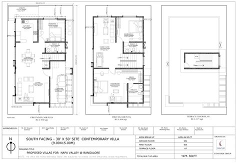 30x50 house floor plans floor plan concorde concorde napa valley at kanakapura road bangalore