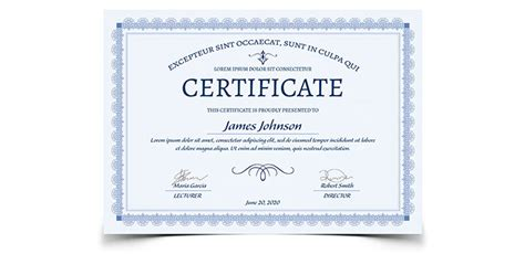 indesign certificate template certificate template adobe indesign images certificate