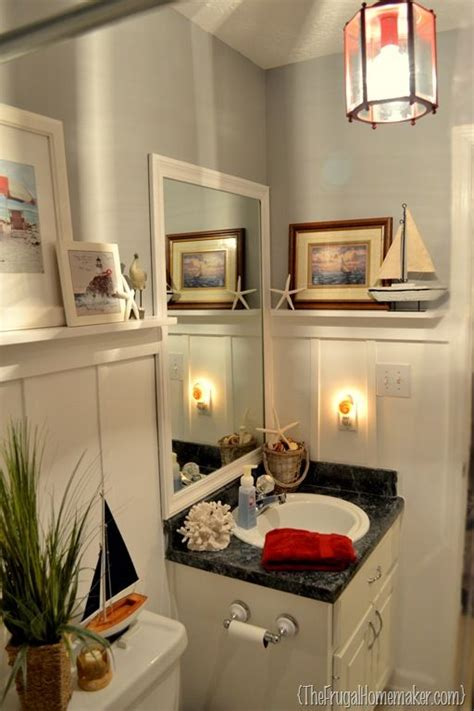 beach inspired bathrooms beach inspired guest bathroom final reveal or how i
