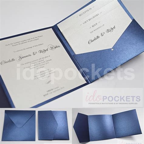 make your own envelope ziggity zoom royal dark blue square wedding invitation envelopes diy
