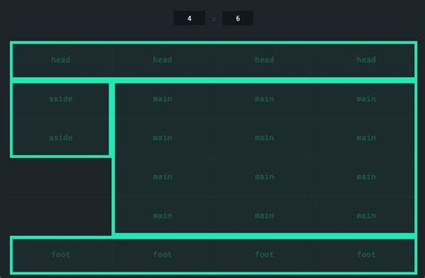 10 Creative Css Grid Exles On Air Code Css Grid Template