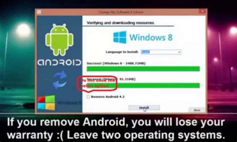 install windows 10 to android tablet how to install windows 7 8 8 1 10 on android mobile or