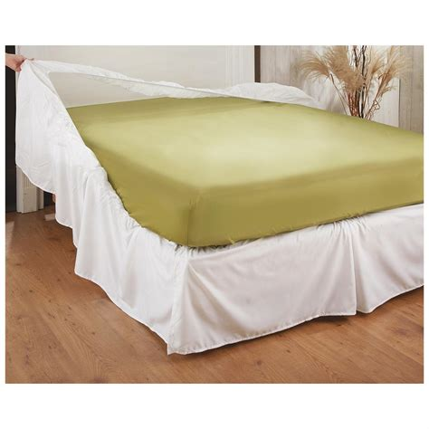 bed accessories easy on bed skirt 235408 bedding accessories at sportsman s guide