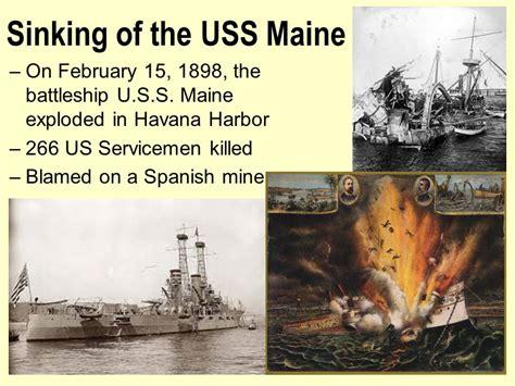 sinking of the uss maine a splendid little war ppt download