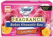 Charm Fit Fragrance Slim Wing 18 Pcs charm fragrance feminine care informasi produk unicharm