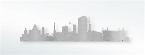 edelstahl dortmund edelstahl design wandtattoo skyline dortmund jetzt