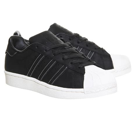 Adidas Superstar Leather Square Pattern adidas superstar 1 black rt waxed leather unisex sports
