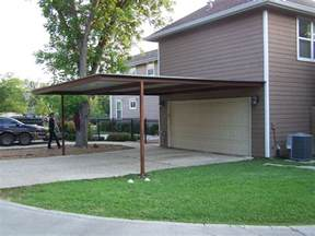 Carport Attached To Garage by Alamo Heights Attached Carport Carport Patio Covers