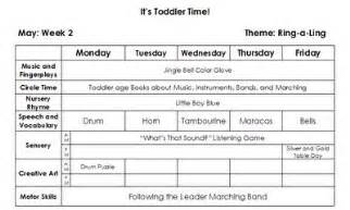 Early Childhood Education Lesson Plan Template by Excellence In Early Childhood Education Toddler Lesson