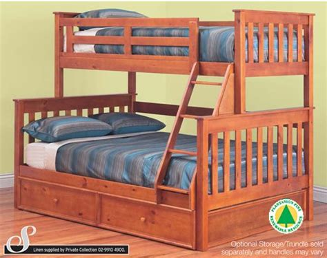 double over double bunk beds fort trio bunk bed single over double bunks best in beds