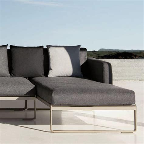 modern exterior furniture gandia blasco flat modern outdoor sofa modular 2 stardust