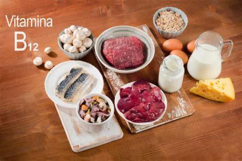 alimentos que contienen vitaminas b12 vitamina b12 o cianocobalamina funciones y fuentes