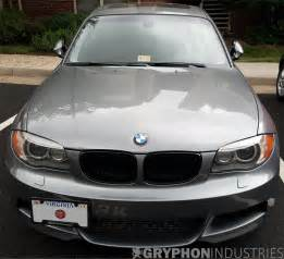 Bmw 1 Series E87 Headlights by Bmw 1 Series Frosted Lci Eyebrow Headlight Overlay Decals