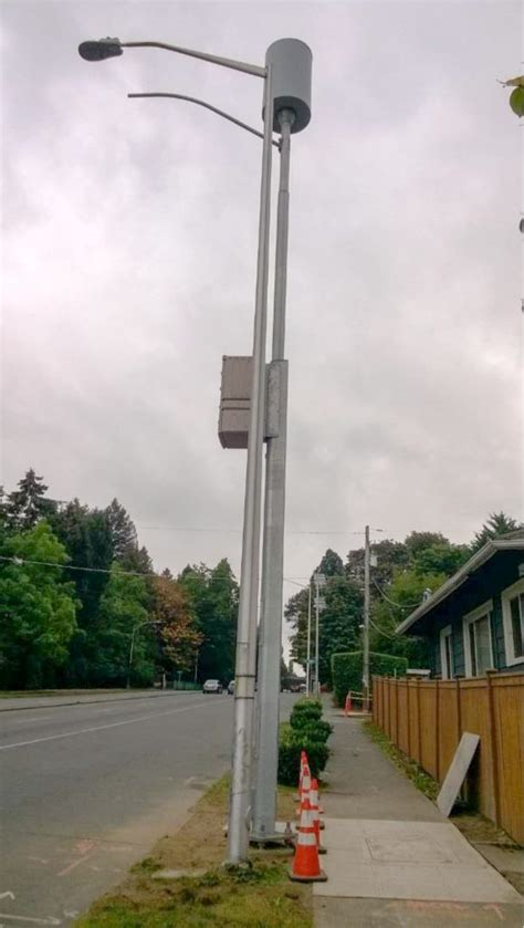 placing small cells on wooden electric distribution poles agl above ground level