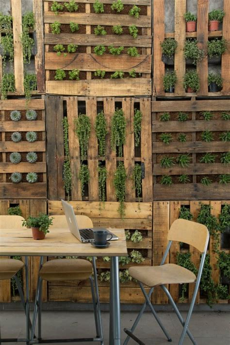 pallet garden wall creative ideas using pallets at home coldwell banker