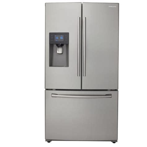 samsung 24 6 cu ft door refrigerator in stainless
