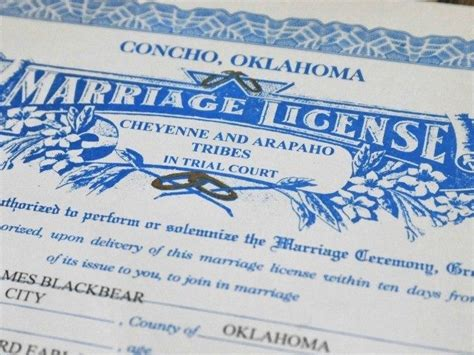 State California Marriage License Records Oklahoma House Approves Bill Shifting Marriage Licenses From State To Clergy Breitbart
