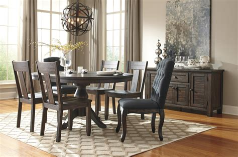 7 oval dining table set 7 oval dining table set with upholstered chairs