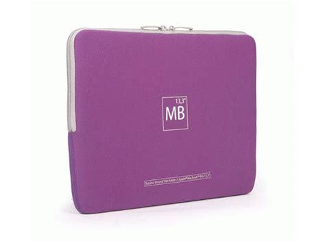 Macbook Pro 15 Inch Second tucano second skin elements purple edition voor macbook