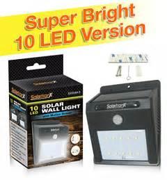 outdoor dusk to security lights 10 led motion sensor solar light dusk to security