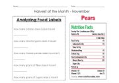 Reading Nutrition Labels Worksheet by Reading Nutrition Labels Worksheet Nutrition Ftempo