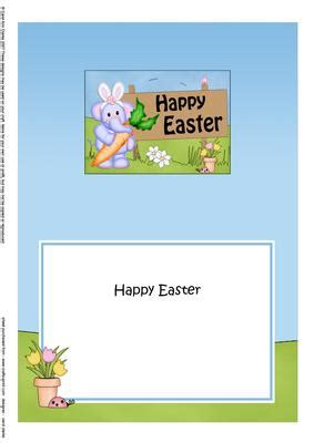 Easter Card Inserts Templates by 5x7 Lola Elephant Easter Matching Insert Cup510536 359