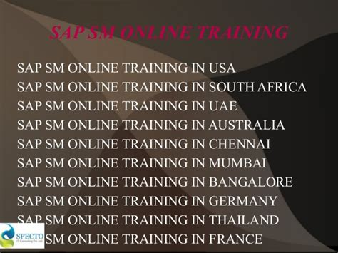 online tutorial in usa sap solution manager online training in usa