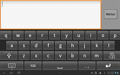 android keyboard why is the android exle softkeyboard layouted like this