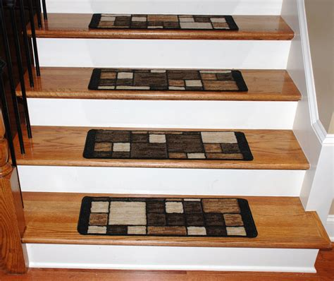 stair treads 15 washable carpet stair treads hop