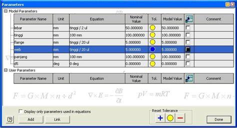 design parameters adalah semarang mechanical design studio tutorial inventor