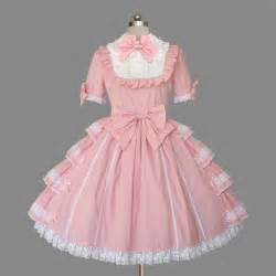 Sweet pink short sleeved lolita dress udc5274 udreamycostumes com