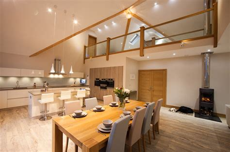 4 stylish homes with slanted ceilings 20 mezzanine designs in sloped ceiling homes home design