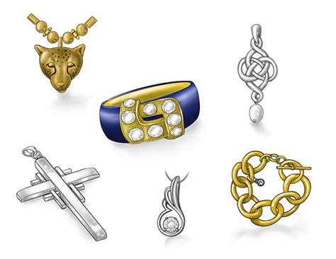 sketchbook pro jewelry practice sketches of jewelry watches and accessories on