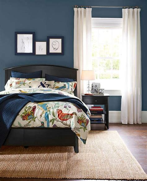 sherwin williams blue bedroom sherwin williams denim home pinterest bed wall