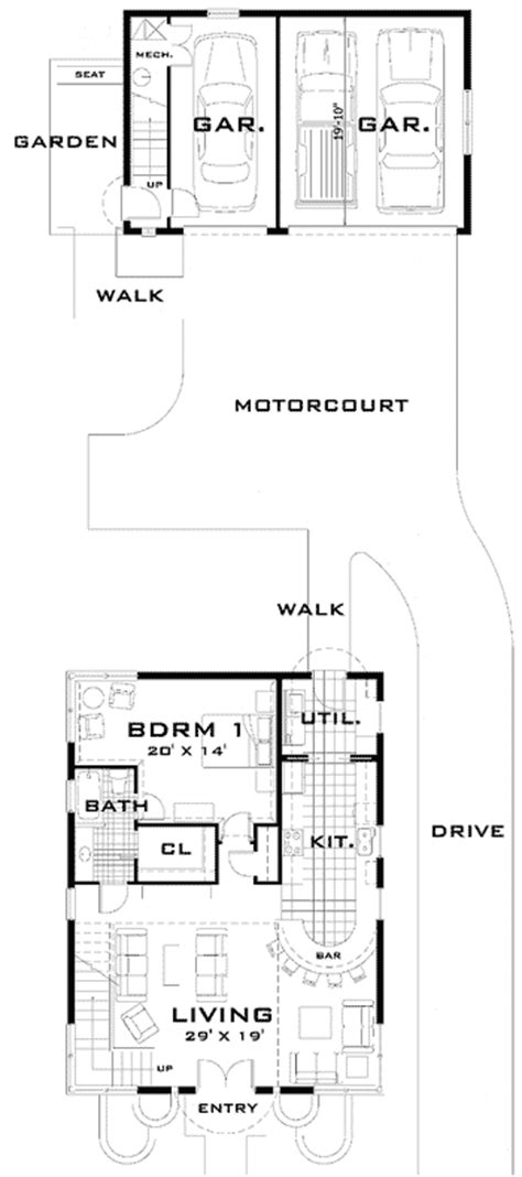 art deco floor plans art deco home plan 44025td 1st floor master suite 2nd floor master suite cad available