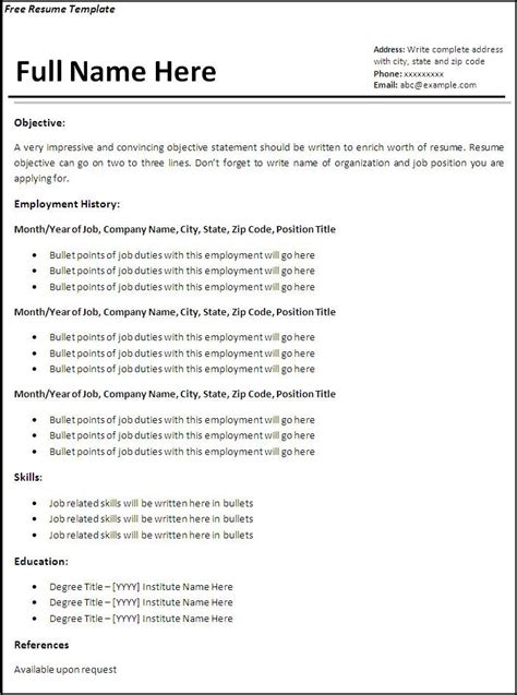 open office resume templates resume templates for openoffice open office resume