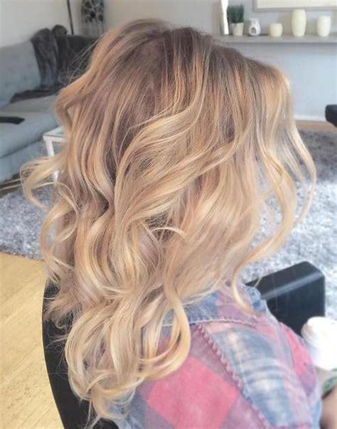 balavage haircolor for medium length blonde hair 40 beautiful blonde balayage looks