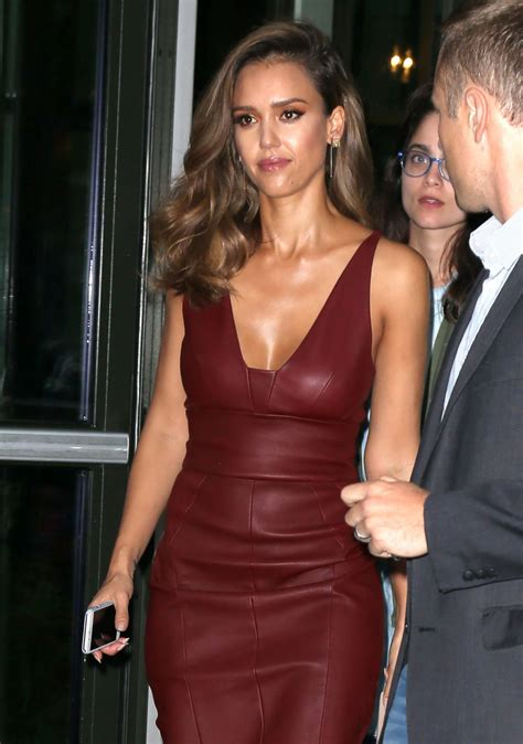 Alba Leaher alba in oxblood leather shift dress nyc 8 25