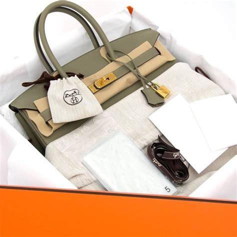 New Arrival Hermes Birkin Clemence 8876 brand new hermes birkin 35 taurillon clemence sauge ghw at 1stdibs