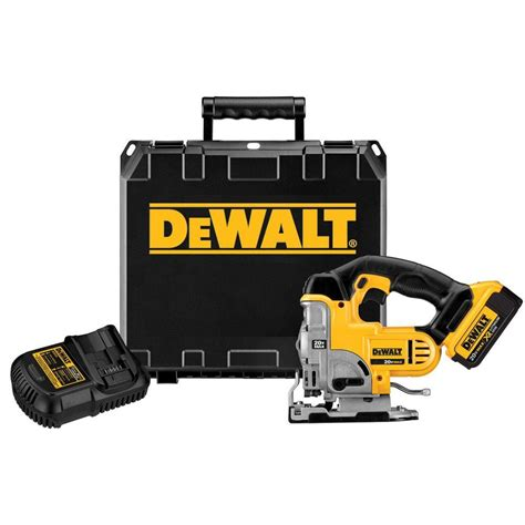 dewalt 20 volt max lithium ion cordless jig saw kit shop