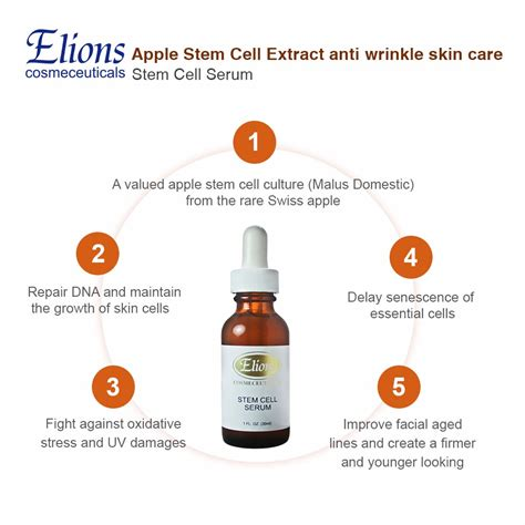Anti Aging Stem Cell Apple anti aging and anti wrinkle swiss apple stem cell