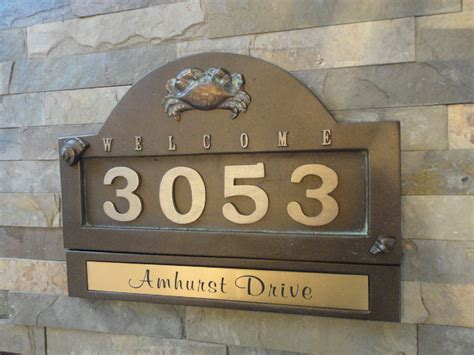 plaques for home decor home decor cool address plaques for house combine with