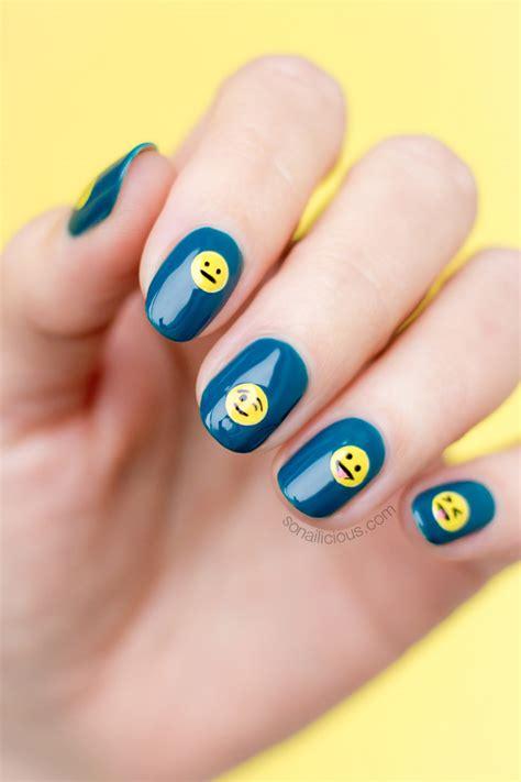 emoji nails emoji nails tutorial