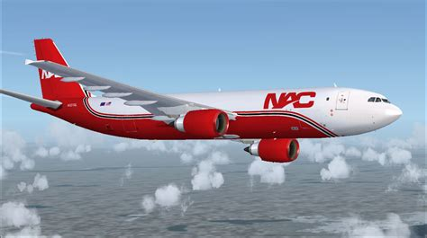 northern air cargo a300 600f for fsx
